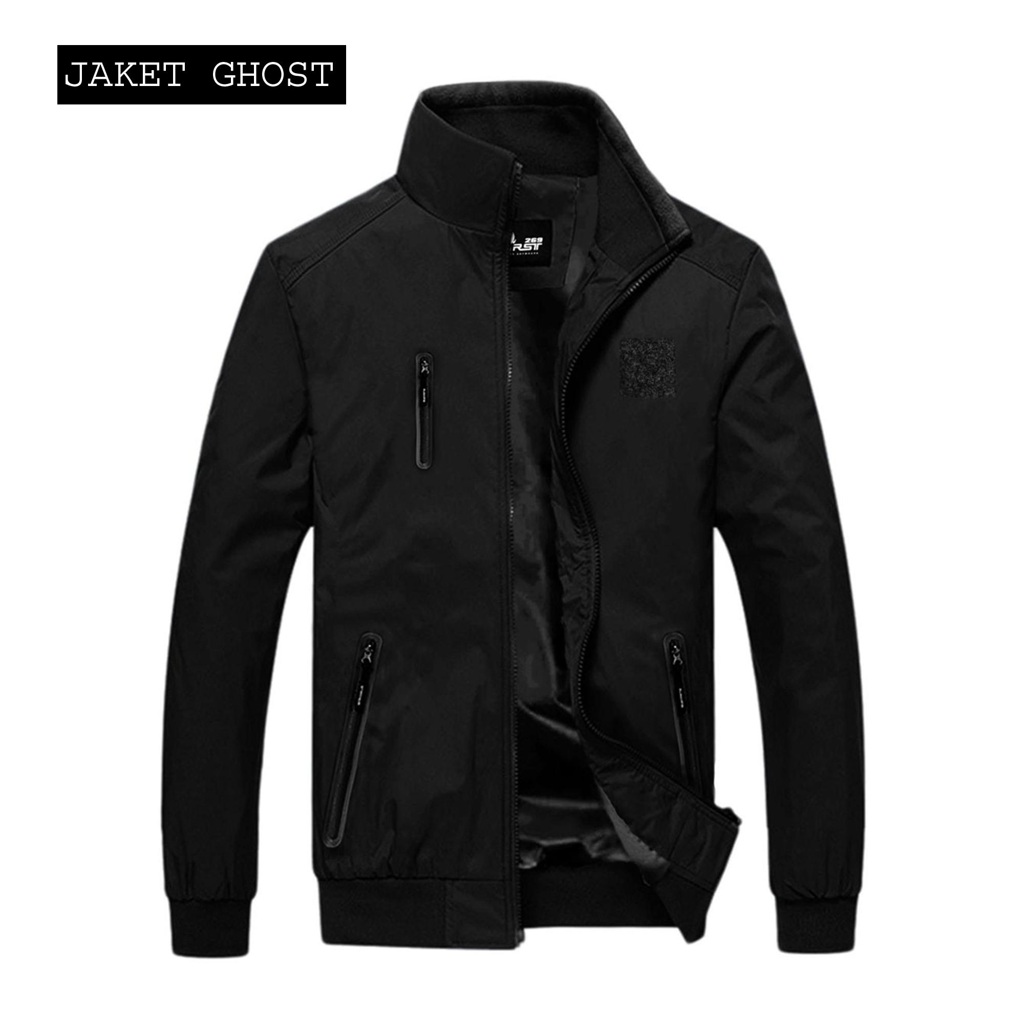 Jaket Pria / Jaket Unisex / Jaket Elegant / Jaket Casual / Jaket Premium / Jaket Indonesia - Wp Black Ghost Indonesia
