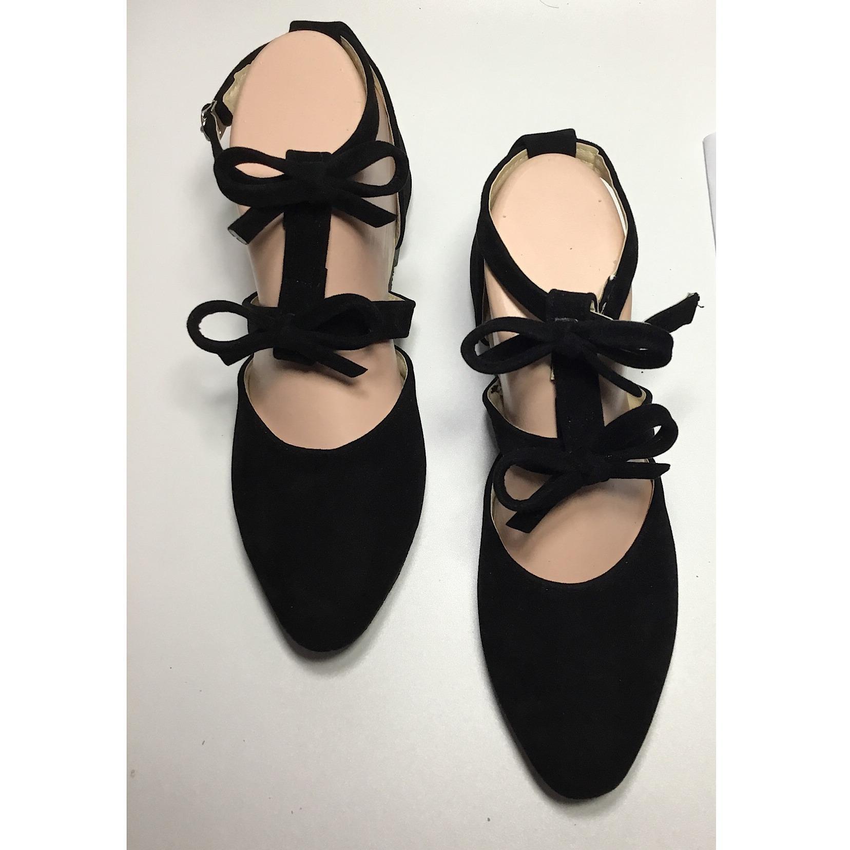 Rafisha-Sepatu Flat Riana-[Hitam]
