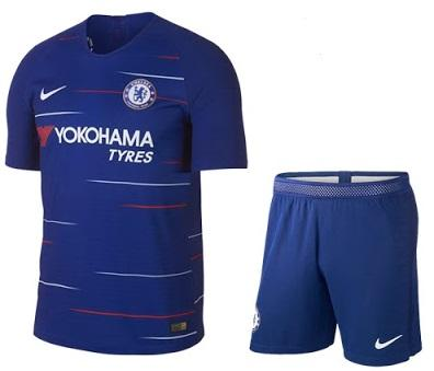 Wino Jersey Bola Chelsea home stelan musim 2018/19 new