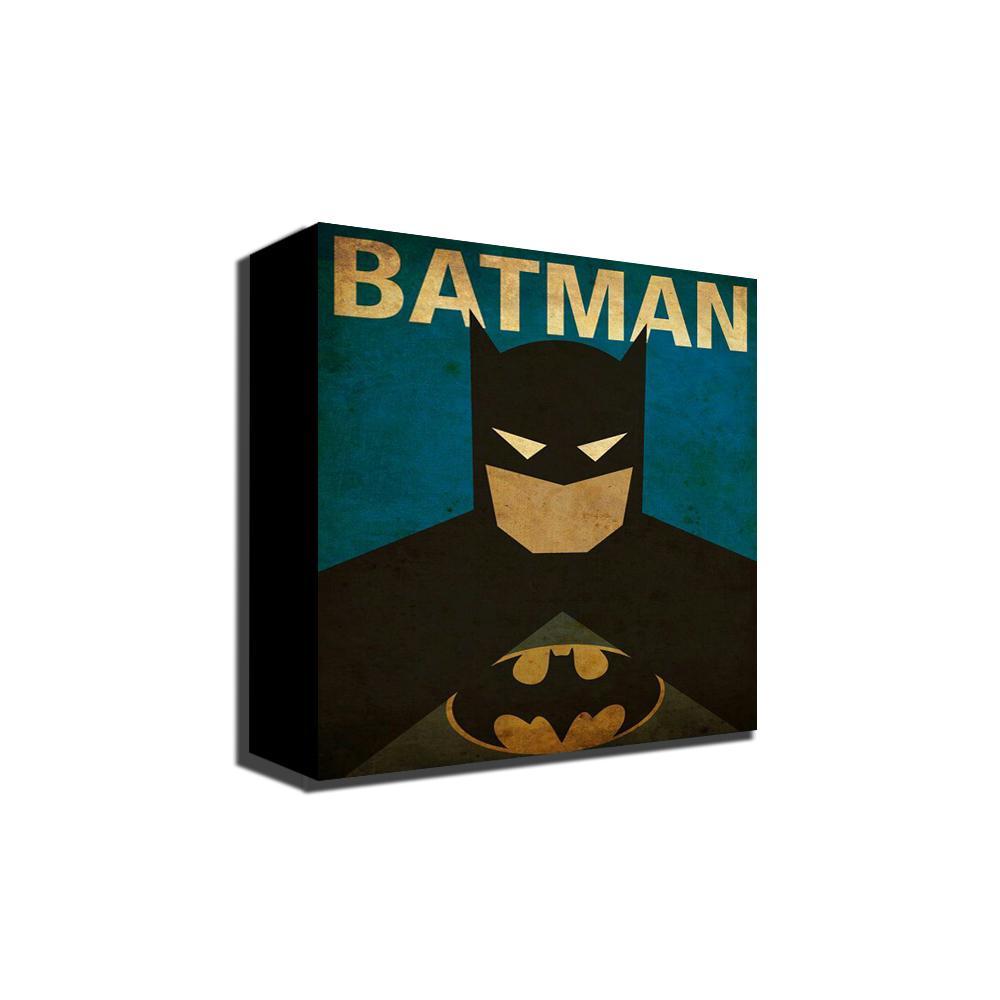 Poter Batman Vintage - Hiasan Dinding