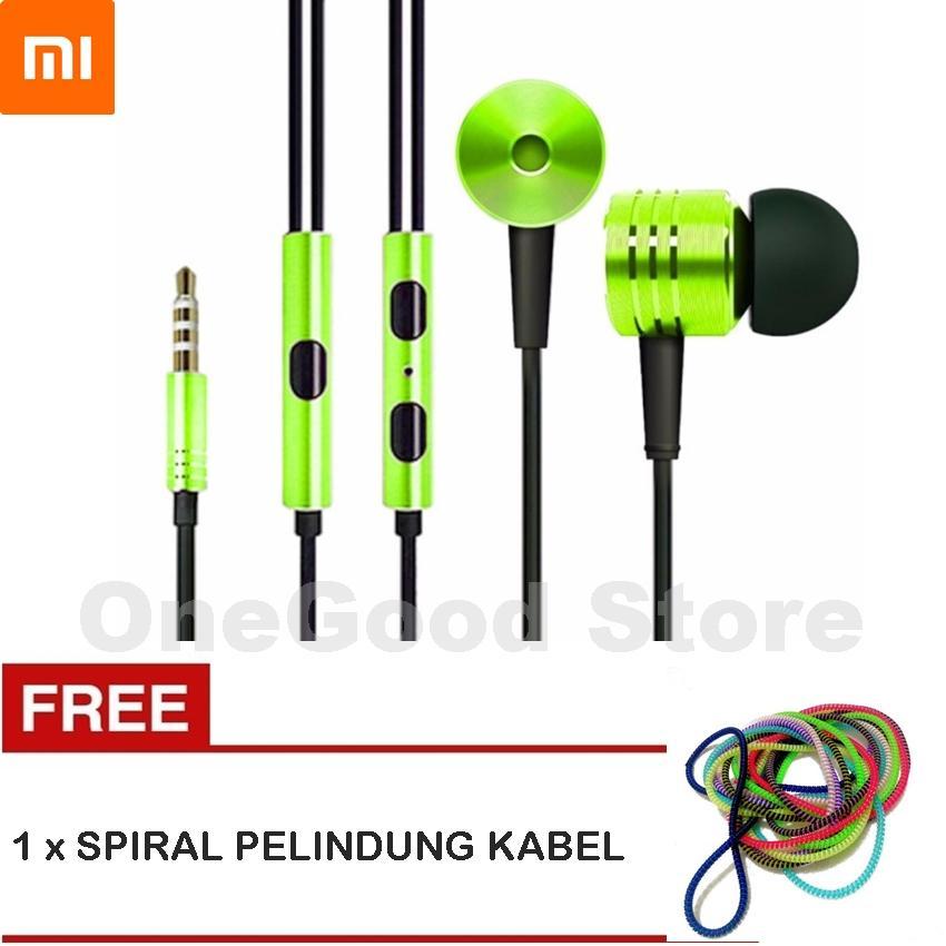 Xiaomi Headset / Handsfree Mi Piston 2nd Generation Big Bass Stereo - Original + FREE Spiral