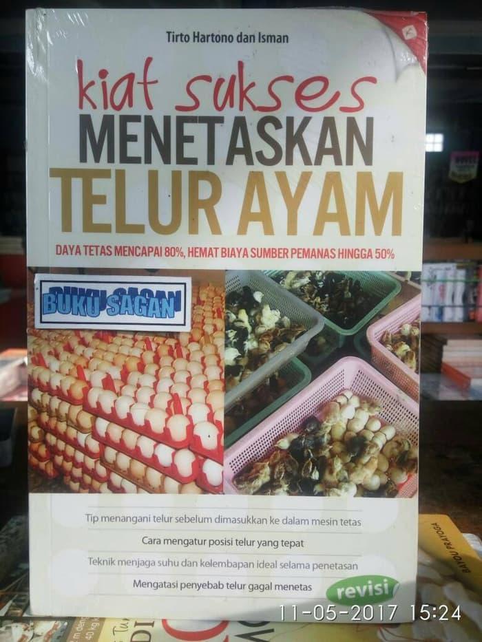Paling Murah - Buku Ori Kiat Sukses Menetaskan Telur Ayam,Tirto Hartono,Agromedia Wd - ready stock