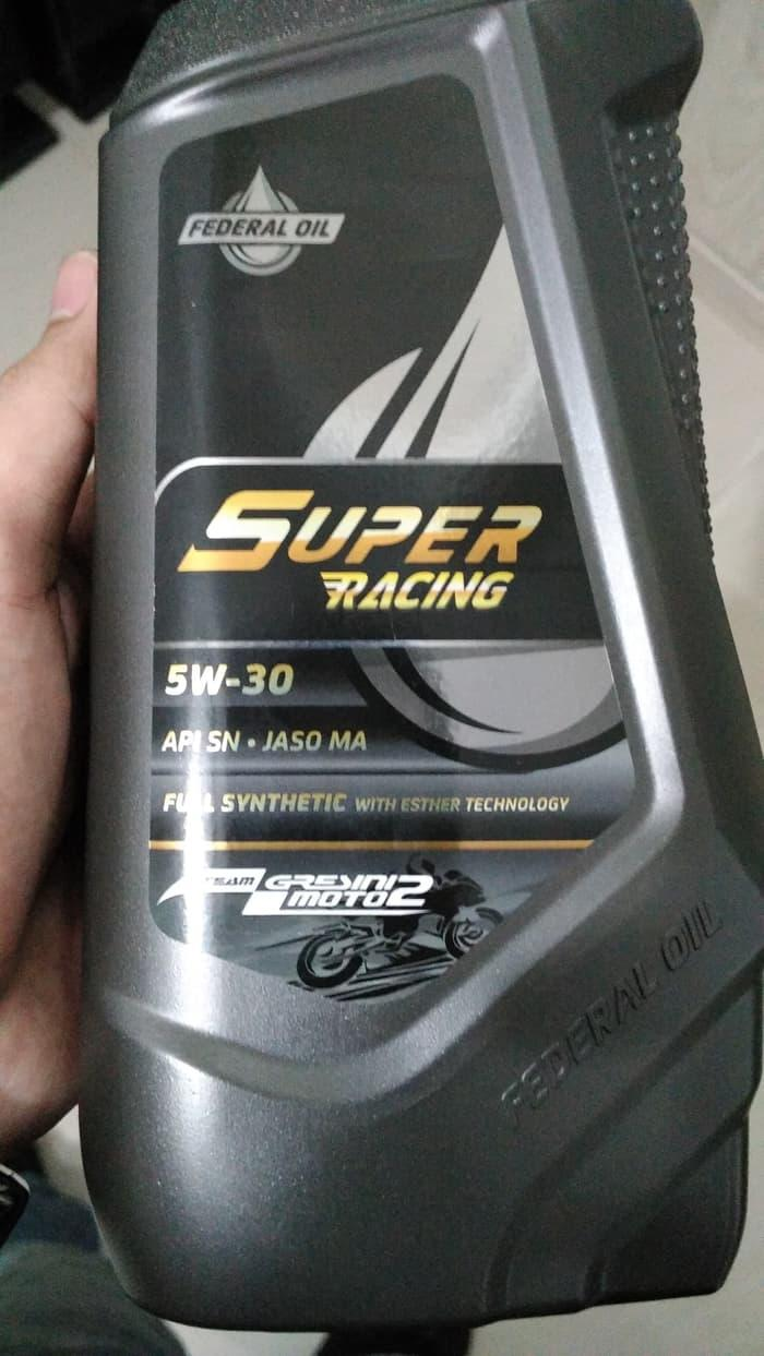 Oli federal super racing 5W-30 (API SN)