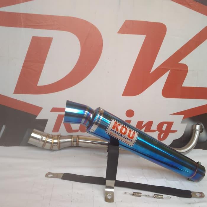 Knalpot Racing Honda Allnew Revo Kou Bloumont By Dk Racing Bekasi.