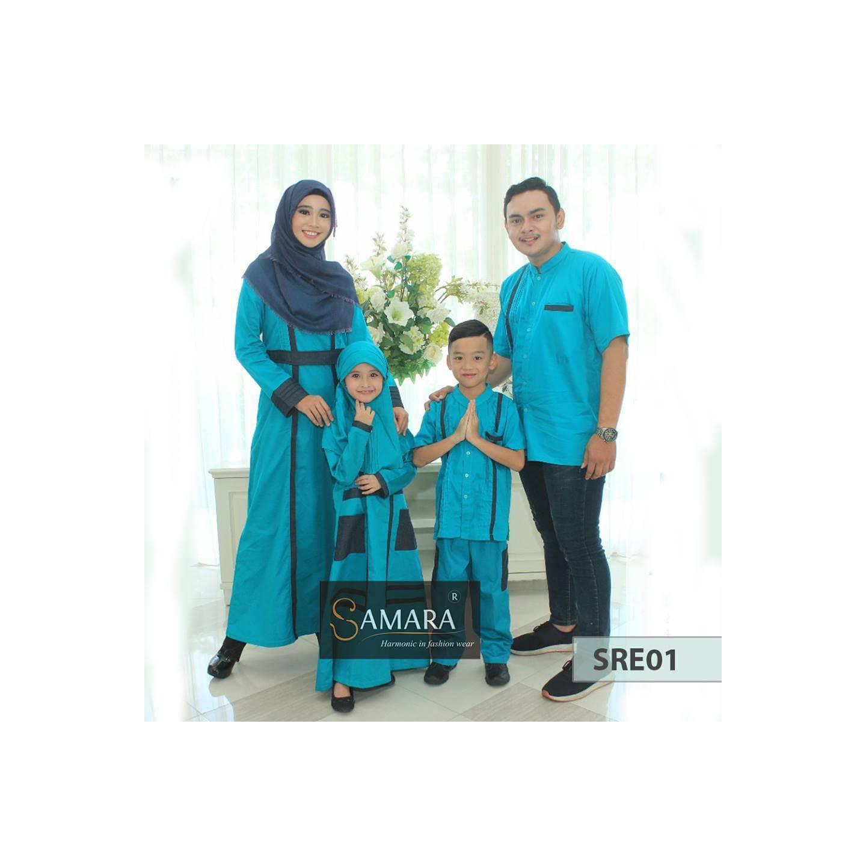 Baju Muslim Keluarga Terbaru/ Busana Muslimah Keluarga/ Baju Couple