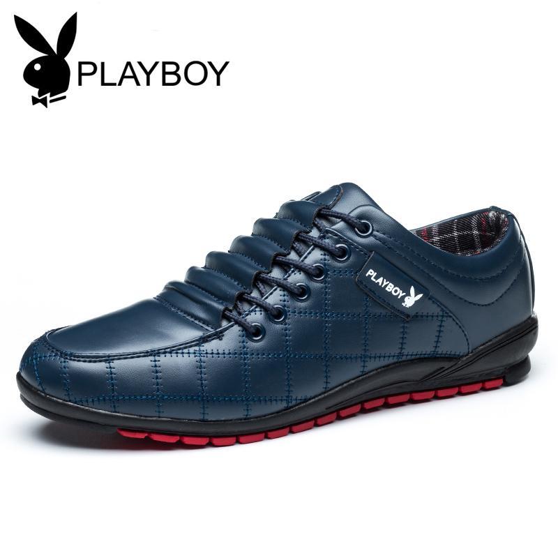 Playboy Sepatu Pria Versi Korea warna Hitam