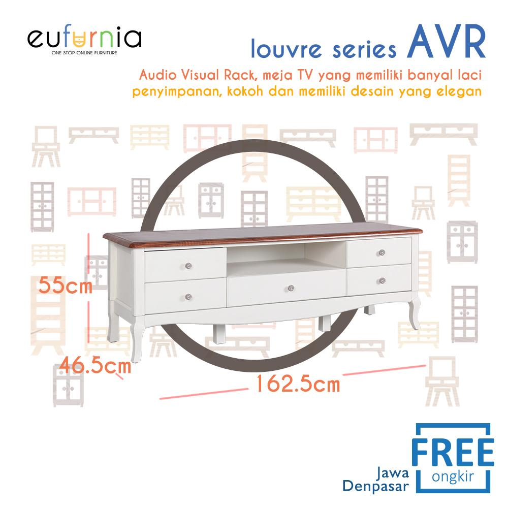 Eufurnia Olympic Louvre Series Audio Visual Rack Rak TV European Style - AVR 0871133