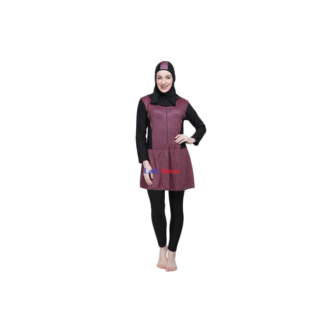 Baju renang muslim wanita / baju olahraga wanita JUMBO