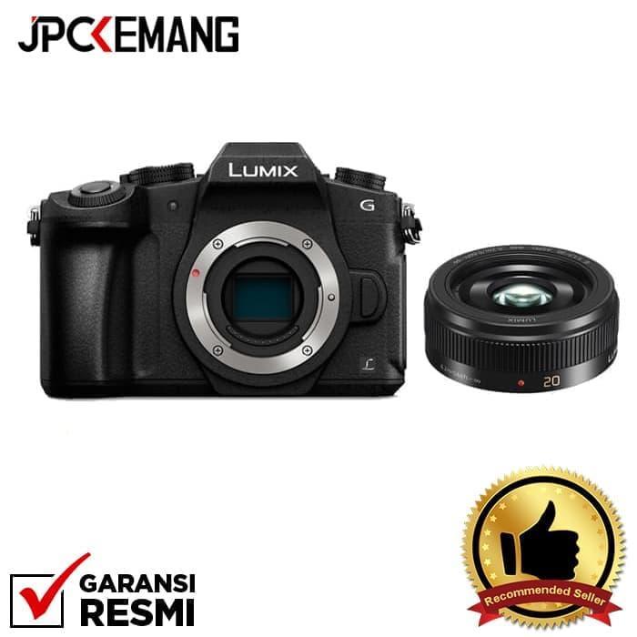 Panasonic Lumix DMC-G85 Body (Black) + Panasonic 20mm f/1.7 II Lumix G ASPH Black jpckemang