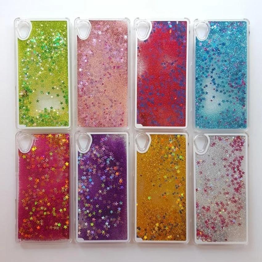 Case Xiaomi Redmi 4A Water Glitter Softcase Backcase Casing Sarung Hp -3r