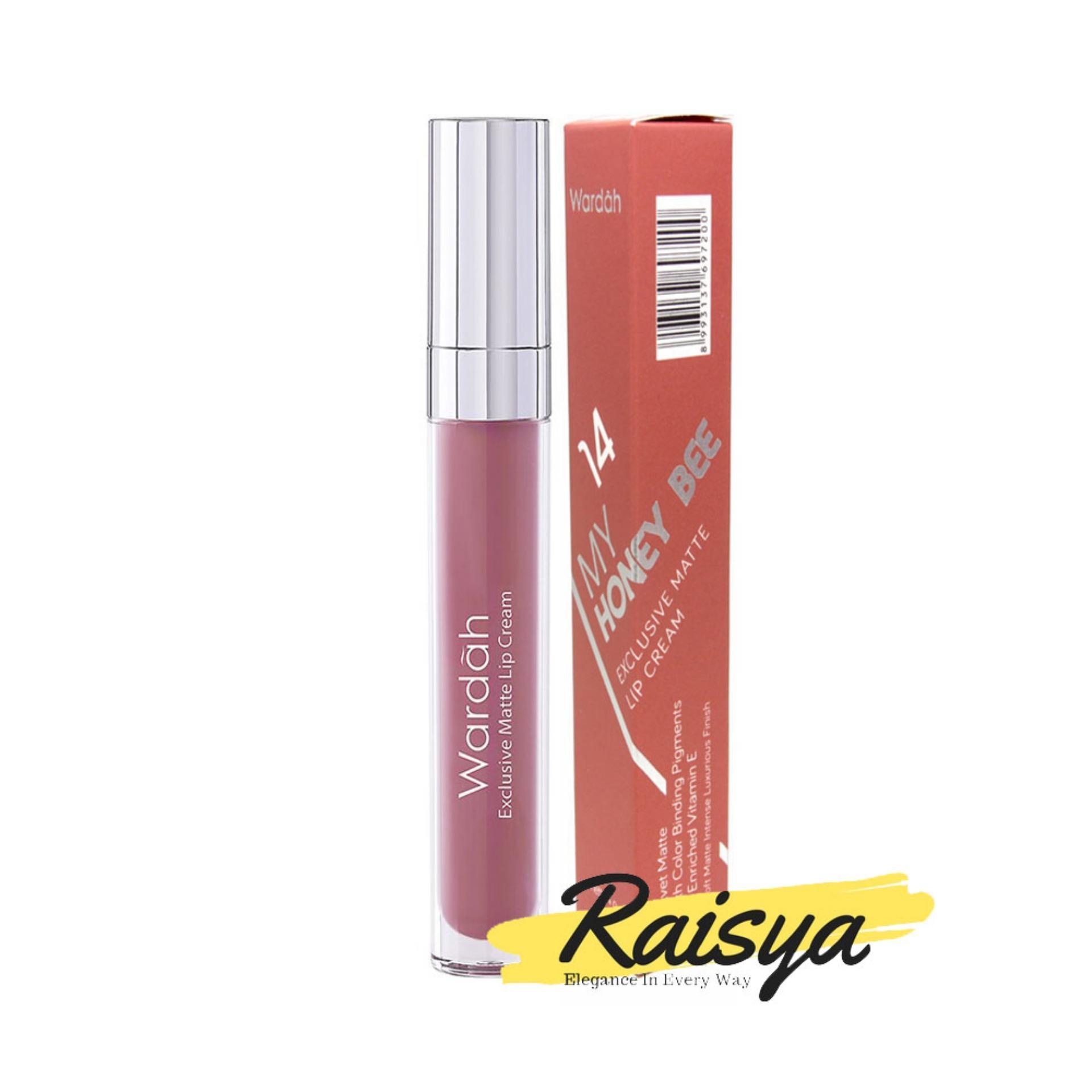 Wardah Exclusive Matte Lip Cream No. 14 My Honey Bee - Original