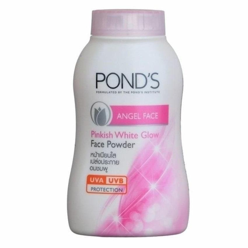 Pond's Angel Face Pinkish White Glow - Bedak Tabur Pond's Mengandung UV Protection