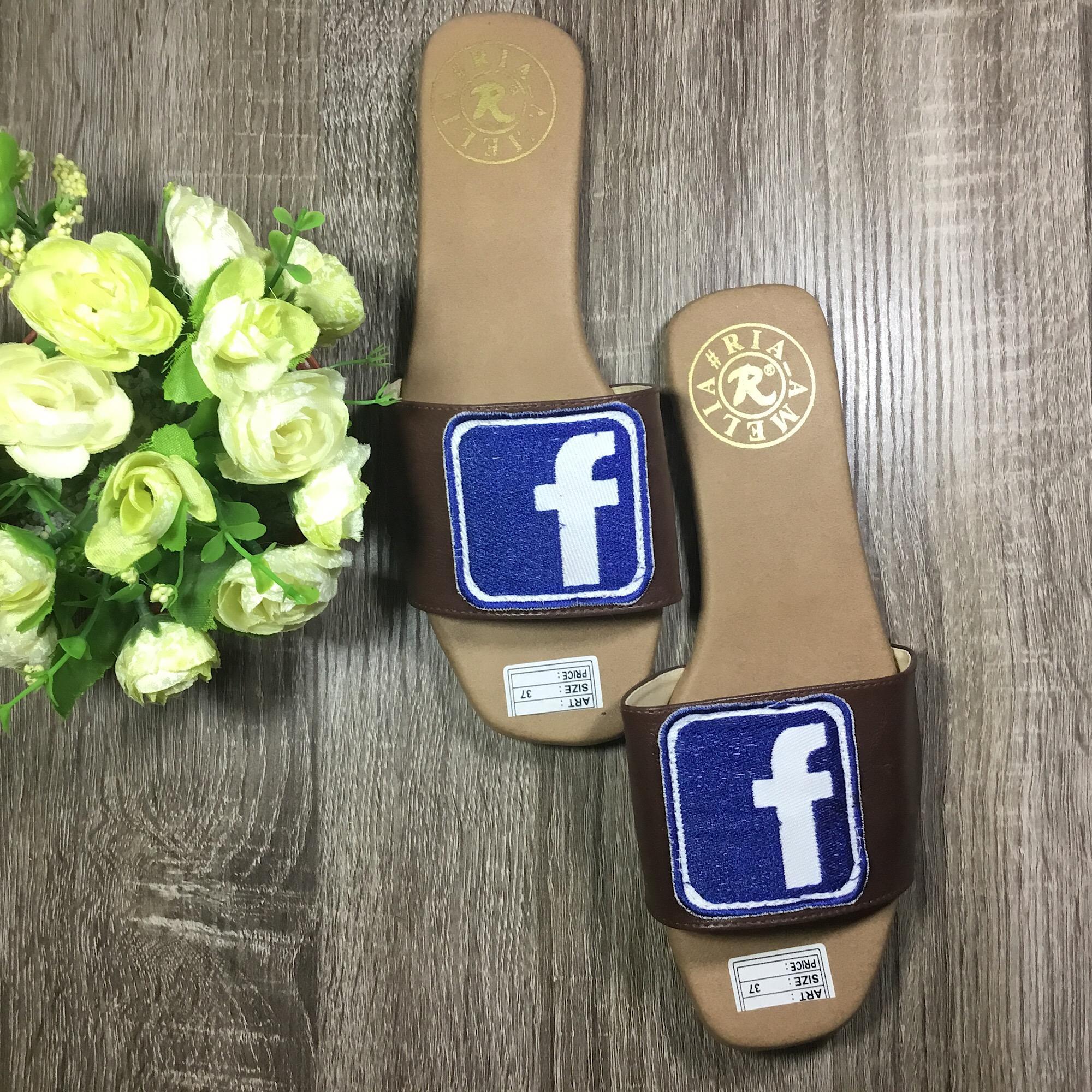 Rafishashoes-Sandal Kokop Facebook-[Navy]