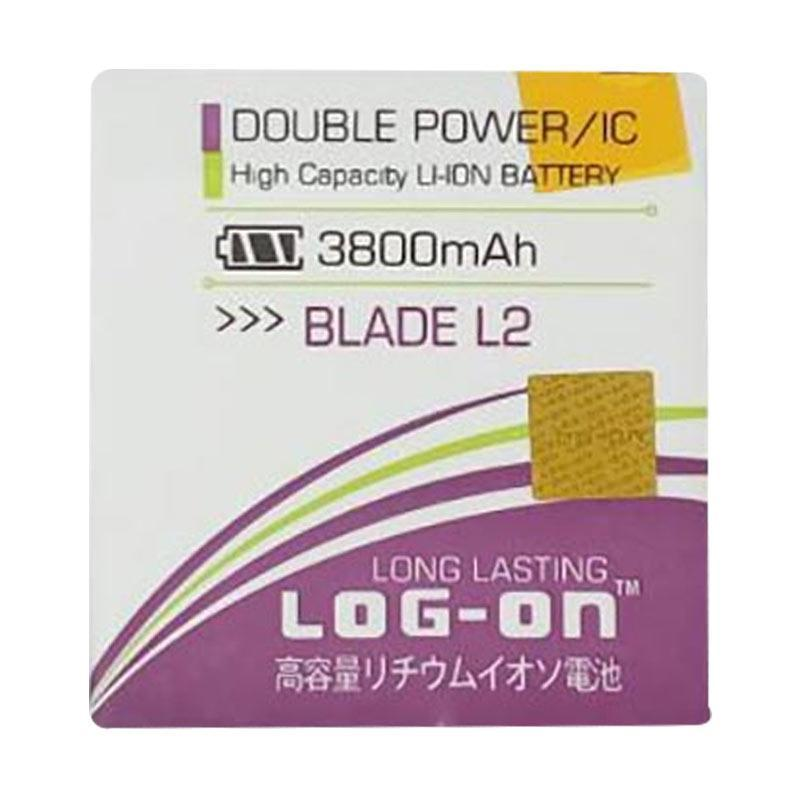Log On Battery For ZTE BLADE L2 Kabel 3800mAH Double Power