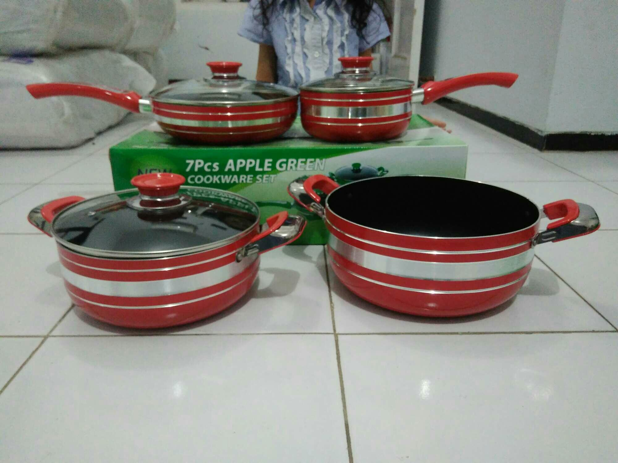 Panci Apple green 7pcs