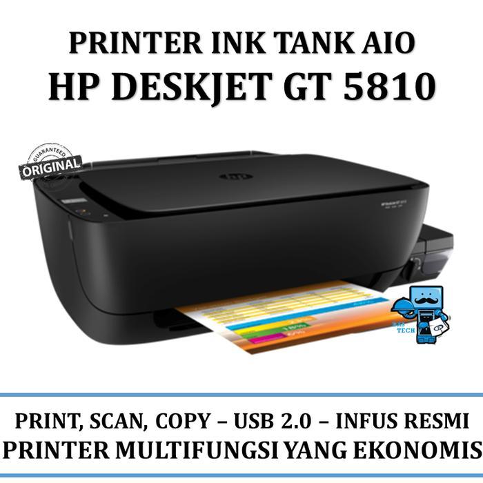 Printer HP All-in-one print scan copy Deskjet GT 5810 Ink tank system