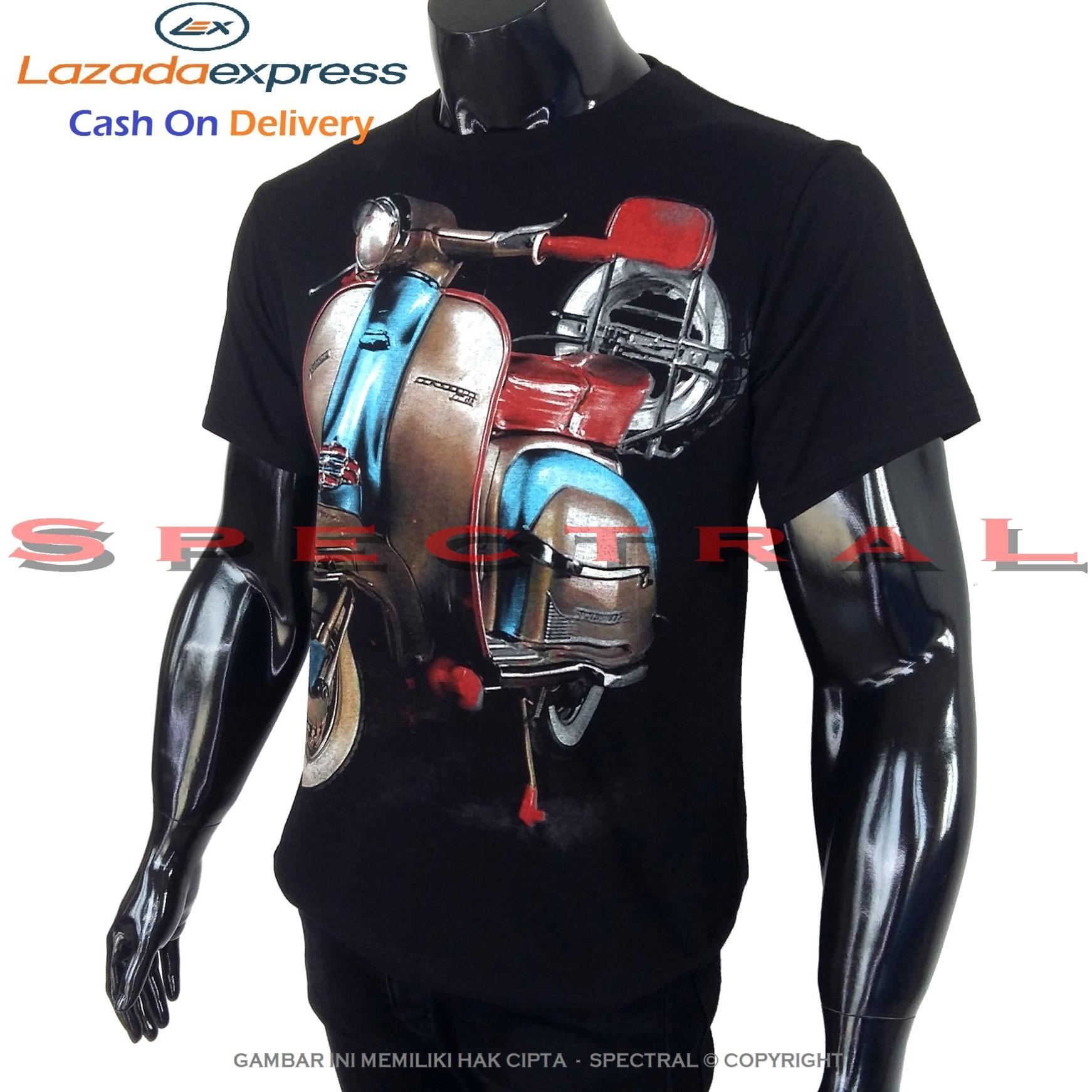 Spectral – MOTOR VESPA 100% Cotton Combed 30s Kaos Distro Fashion T-Shirt Atasan Terbaru Baju Pakaian Polos Pria Wanita Cewe Cowo Lengan Murah Bagus Keren Jaman Kekinian Jakarta Bandung Gambar Otomotif Mobil Sepeda Kendaraan Bus Balap Racing