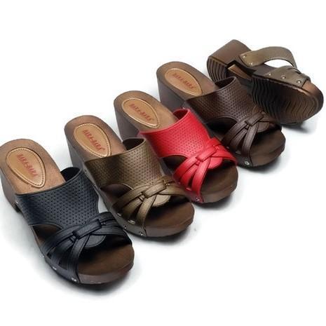 Sandal Selop Jelly Wanita - Sandal Selop Terbaru From Bara Bara Import AMS-B1970BG Warna