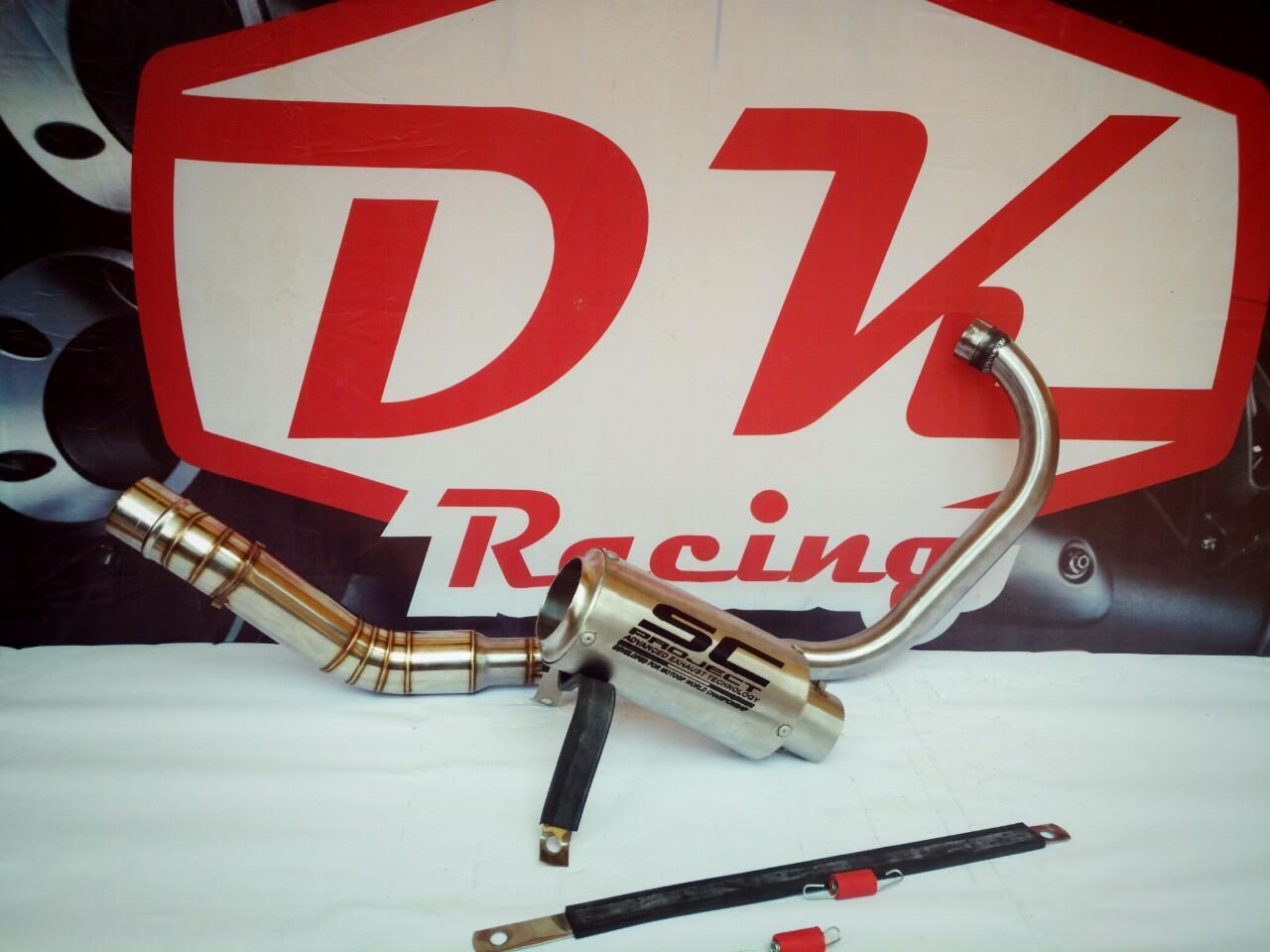 Knalpot Racing Honda Cbr 150 Facelift Yoshimura R11 Carbon By Dk Racing Bekasi