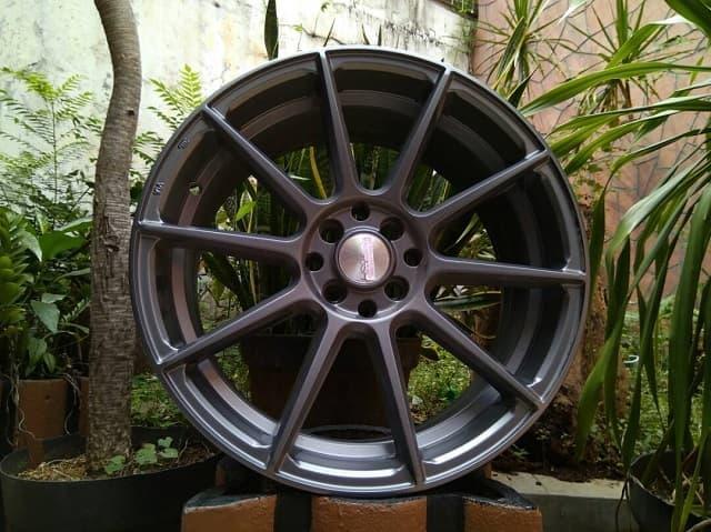 Lapak velg model FUJI JD971 HSR R18X8 H8X100-114,3 ET45 SMG