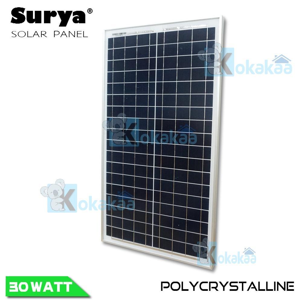 Surya Solar Panel Surya SSPP 30Wp / 12V Polycrystalline Solar Cell Panel Module