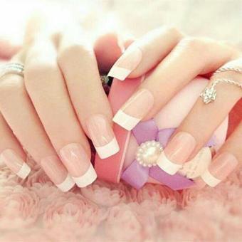 Bandingkan Toko Kuku Palsu Warna 24 Tips Basic French 2 Tone Natural Nails Fake Manicure All Size Nail Arts Produk Kecantikan Perawatan Hiasan Kuku Wanita ...