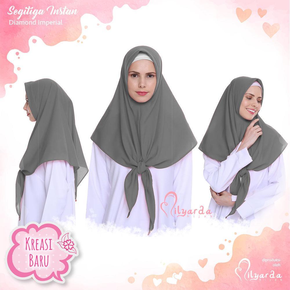 Beli Alwa Hijab Jilbab Pon Segiempat Premium Bergaransi Coklat Tua Hhm048 Gantungan Scarf Dasi Belt Dll 12 Loop Milyarda Store Instan Segitiga Warna Abu