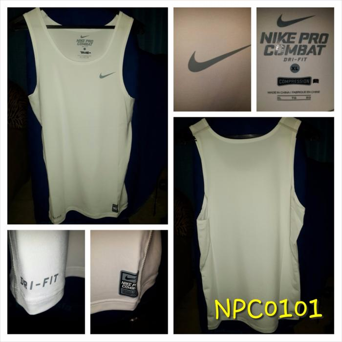 HOT PROMO!!! Promo Baselayer Singlet Nike Pro Combat Hitam Exclusive Termurah - 2CyBo5