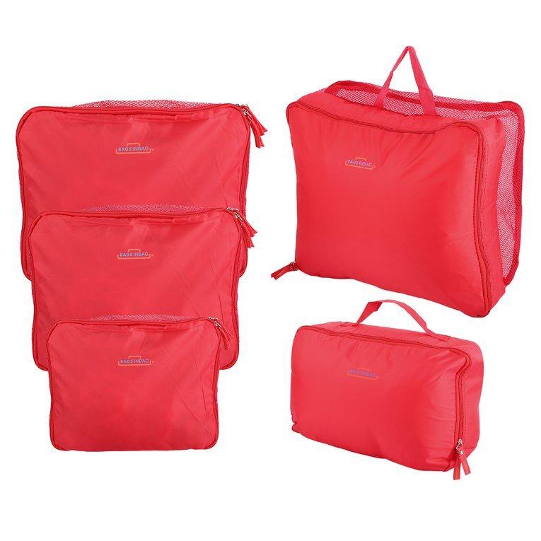 Osman 5 Pcs/set Multifungsi Perjalanan Pengemasan Tas Pakaian Pakaian Dalam Penyimpanan Tas