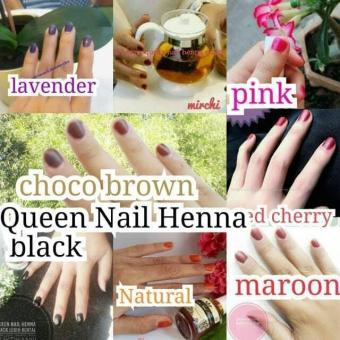 Harga Preferensial Queen Nail Henna Kutek Halal Sah Buat Sholat