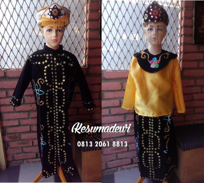 Terbaru! Betawi Sd1-3 Couple| Baju Adat Karnaval Pawai Parade Pentas Seni Anak - ready stock