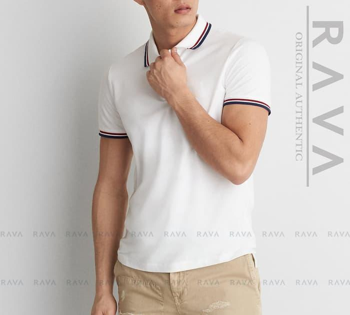 Baju Kaos Polo Lacoste Pique by RAVA ORIGINAL (PROMO BEST SELLER)