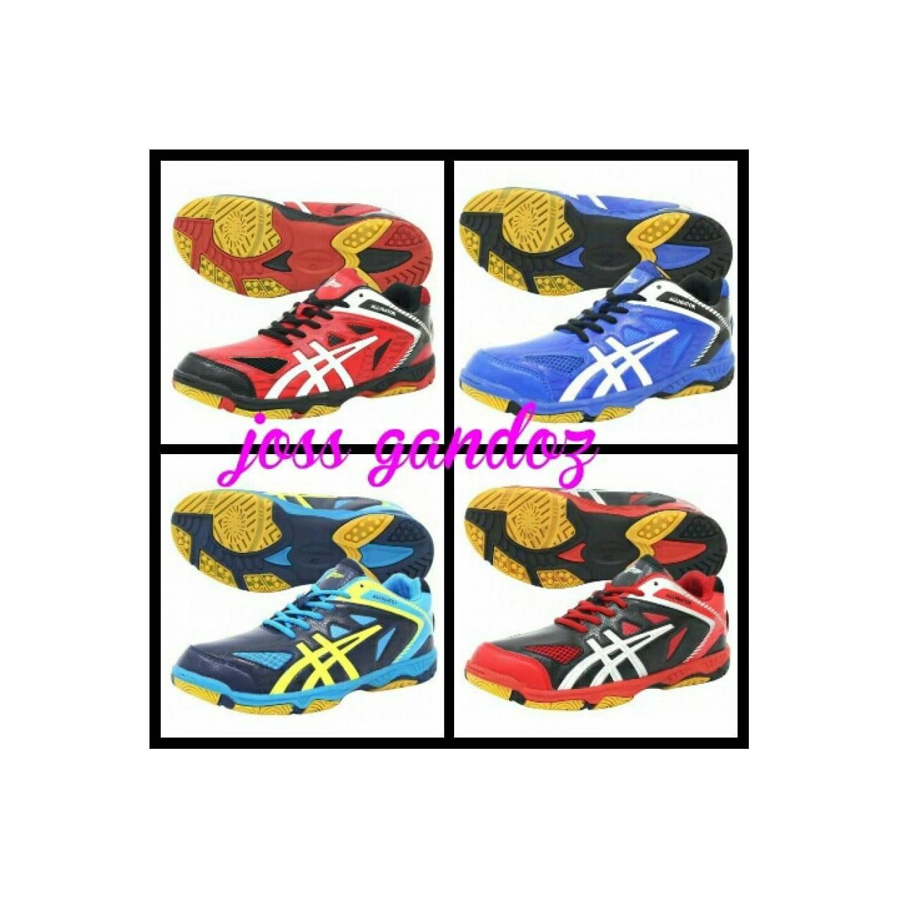 sepatu professional allig / badminton volley volly asics mizuno