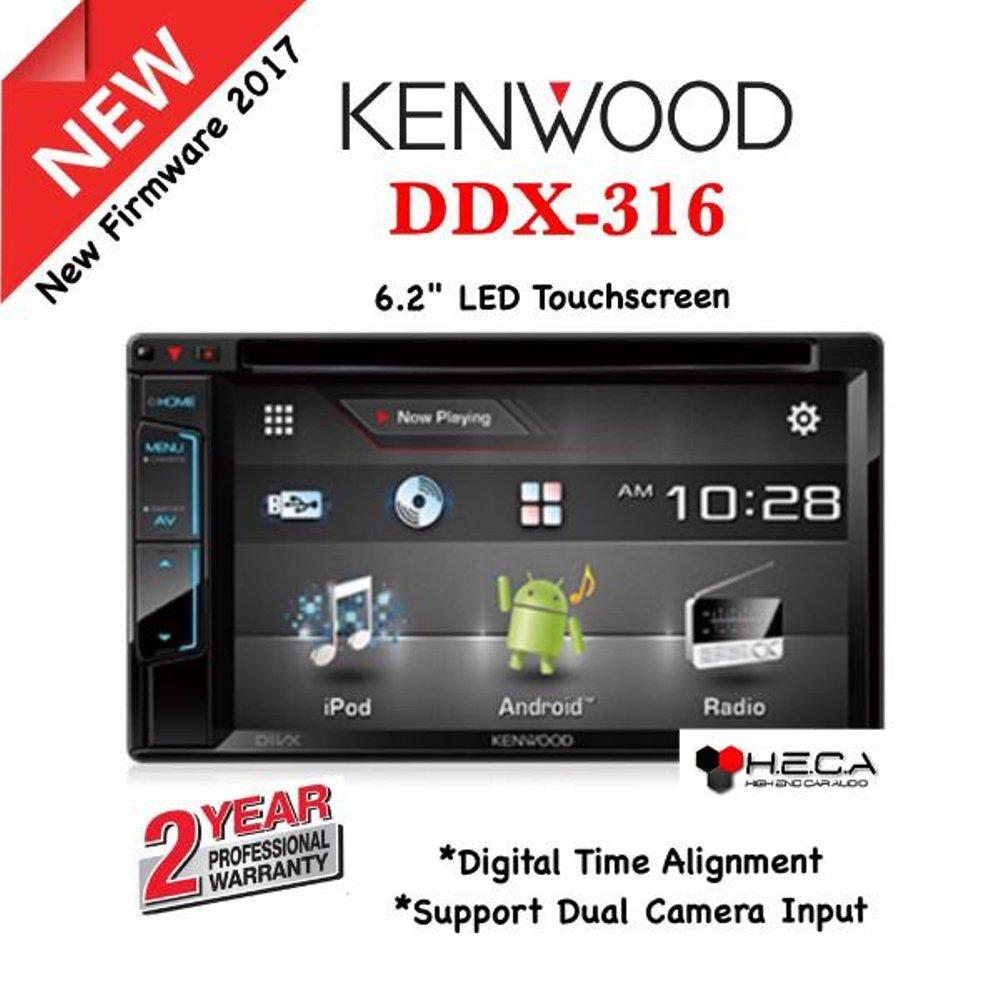 NEW Series!! Head Unit Double Din KENWOOD DDX 316 [ORIGINAL & BERGARANSI RESMI]