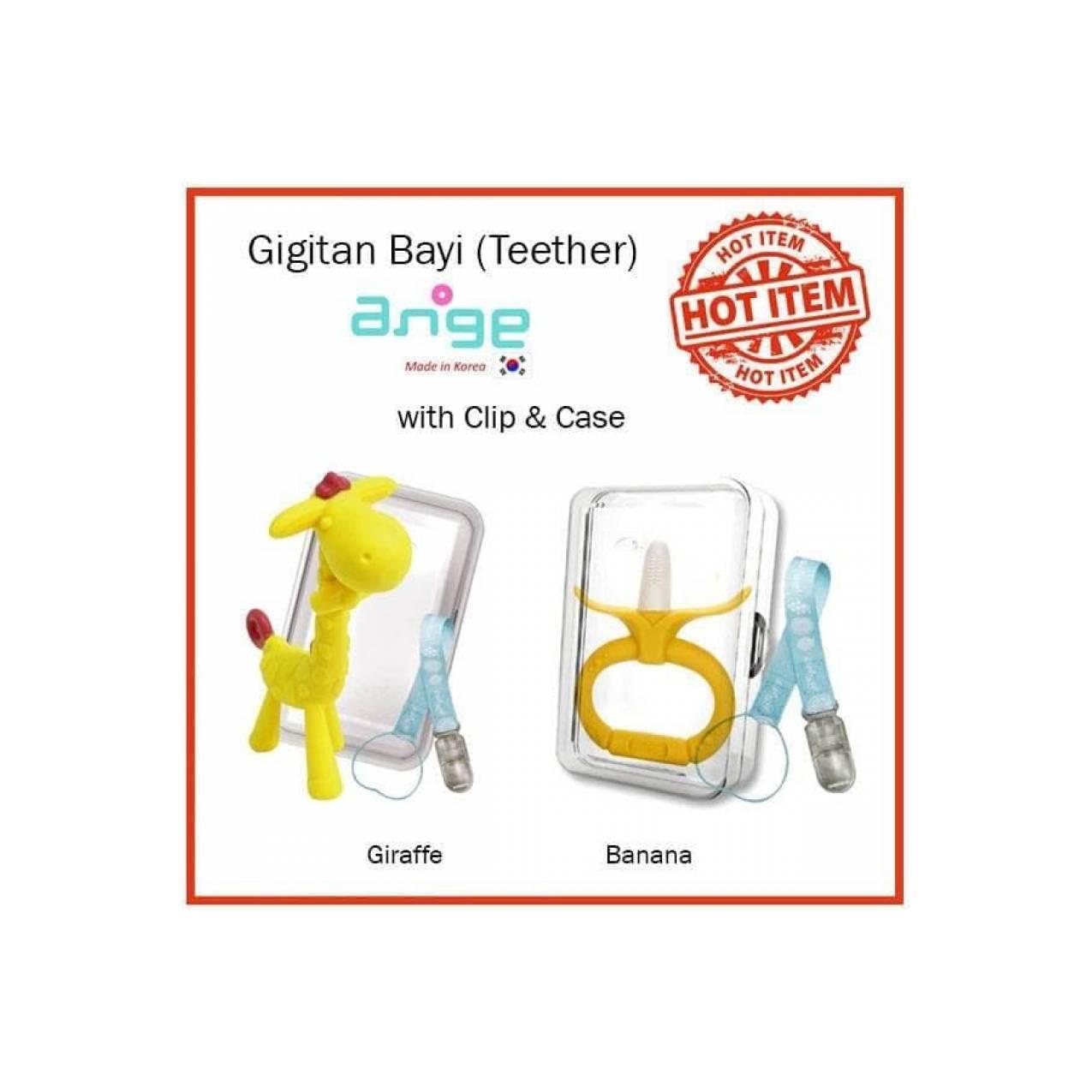 Baby Banana Toothbrush Sikat Gigi Bayi Teether Perlengkapan Com And Source Gigitan Ange Big