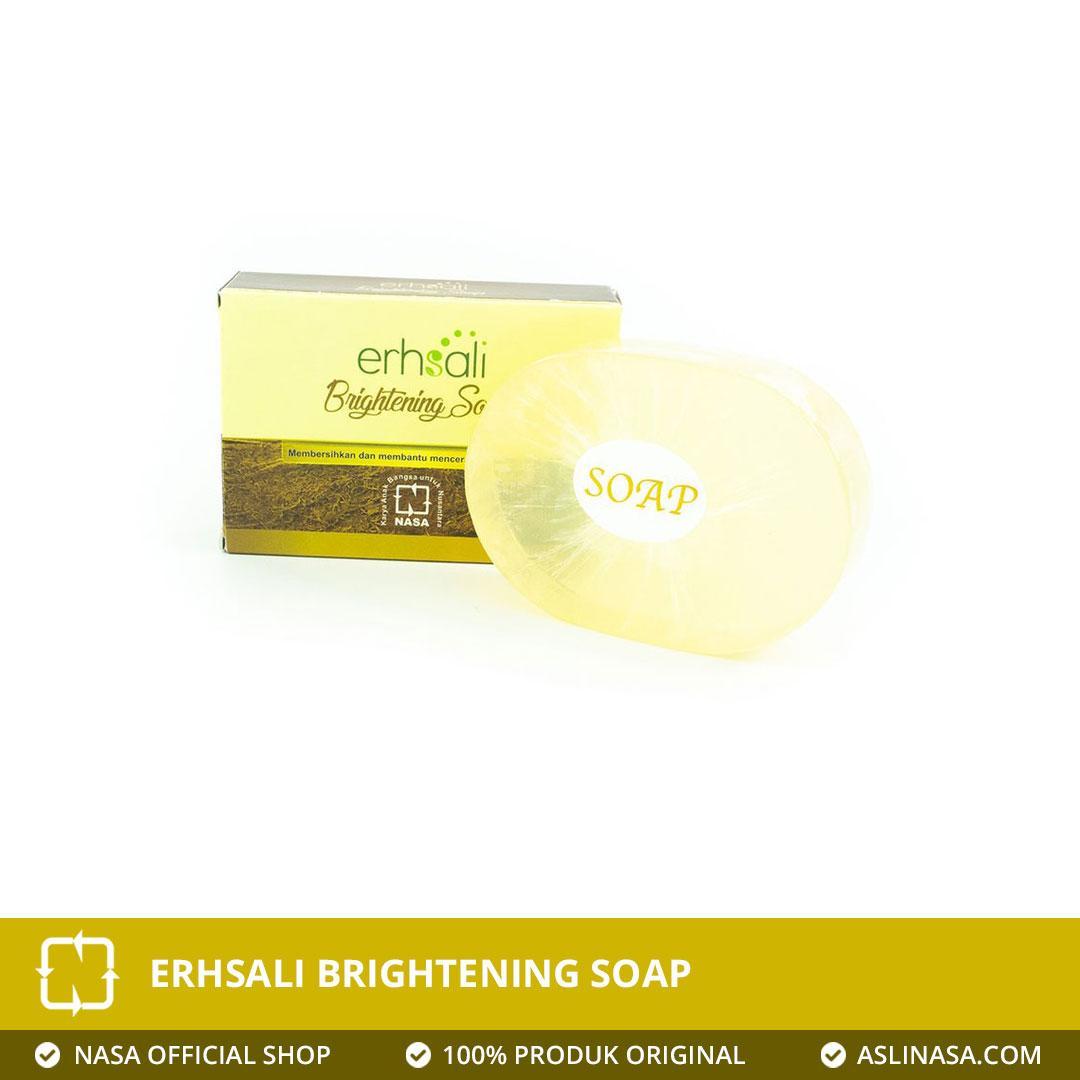 Erhsali Brightening Soap Pencerah Wajah Herbal Asli NASA