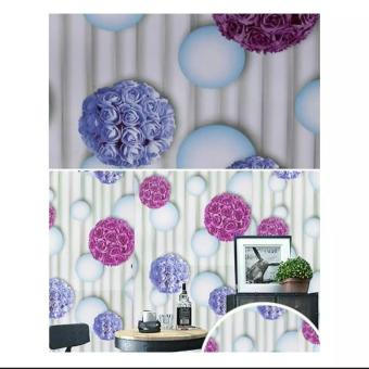 Pencarian Termurah Wallpaper Stiker Dinding Motif Dan Karakter Premium Quality Size 45cm X 10M Bunga Gelembung sale - Hanya Rp41.925
