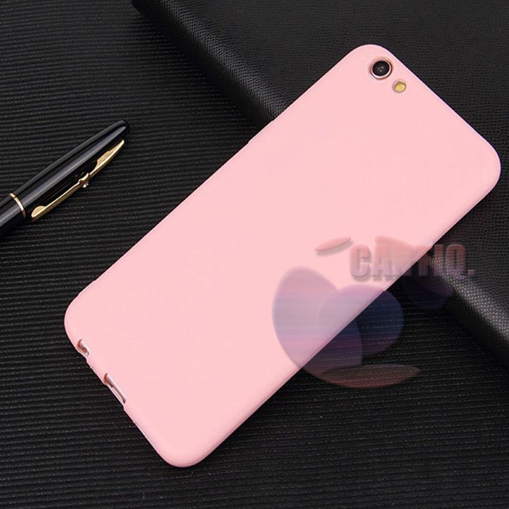 Lize Jelly Case Oppo A71 Candy Rubber Skin Soft Back Case / Softshell / Silicone Oppo A71 / Jelly Case / Ultrathin Oppo A71 / Case Lize Huawei / Casing Hp / Baby Skin Case - Pink / Pink Muda