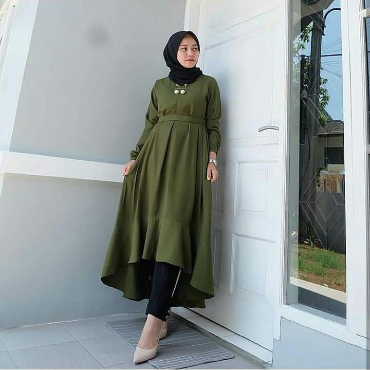 ... Kemeja Formal / Busana Muslim pria. Source · MC Nada Tunik Wolfice Atasan Baju Muslim Original Pakaian Wanita Hijab Terbaru Fashion Cewek Trendy Modis