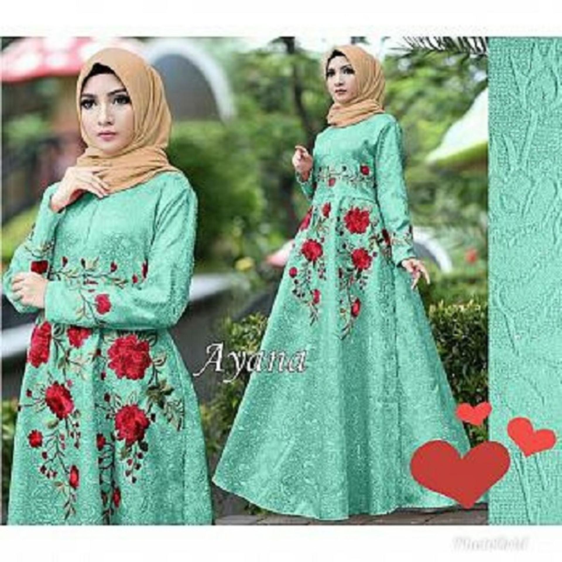 Buy Sell Cheapest Gamis Maxi Best Quality Product Deals Emma 23 Baju Muslim Wanita Gamia Model Kekinian Trendshopee Pakaian Ayanamoon