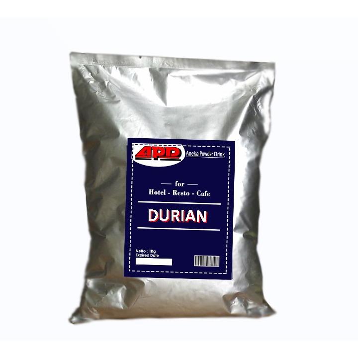 Durian Powder - Bubuk Minuman Bubble - Aneka Powder Drink