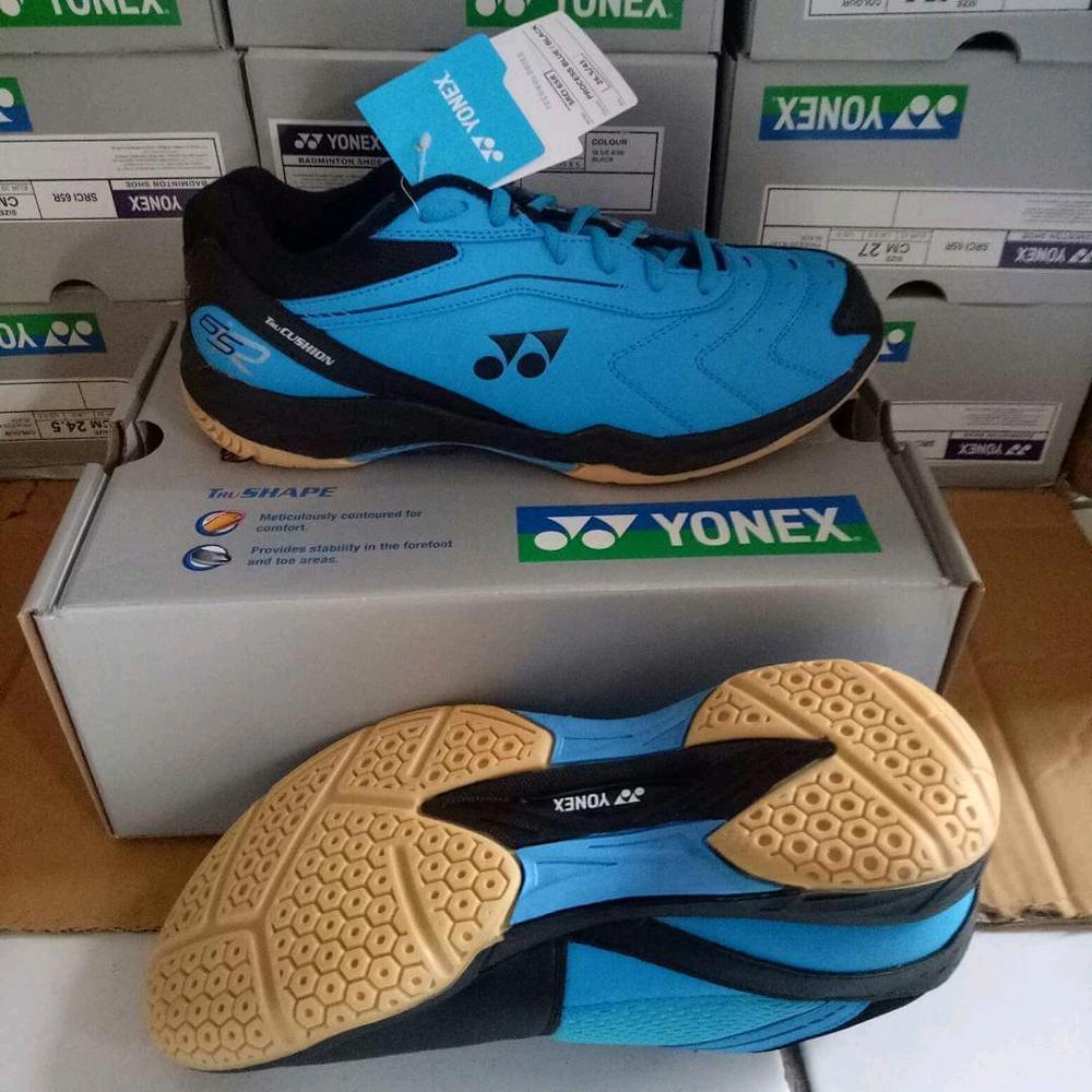 Sepatu Badminton Yonex Tru Cushion 65R, Sepatu Bulu Tangkis Pria