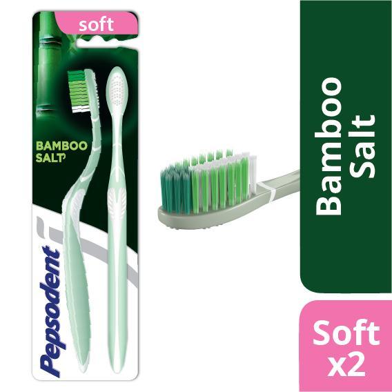 Pepsodent Bamboo Salt Sikat Gigi Soft Multipack (Isi 2) dfd9f3b8f8