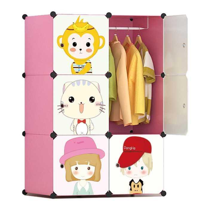 Best Seller!!! Lemari rak Laci meja anti air besi portabel furniture Unik Murah Minimalis