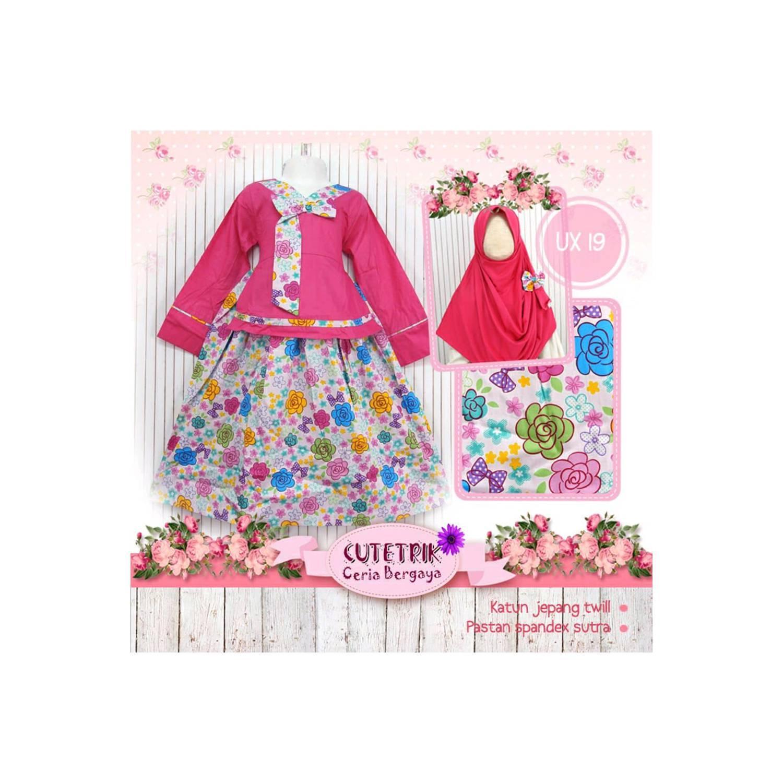 Baju Muslim Anak Gamis Cutetrik Hanbok Series size Besa Berkualitas