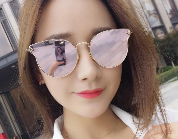 BEST SELLER kacamata artis korean unbrand gentle monster kc 54 pink