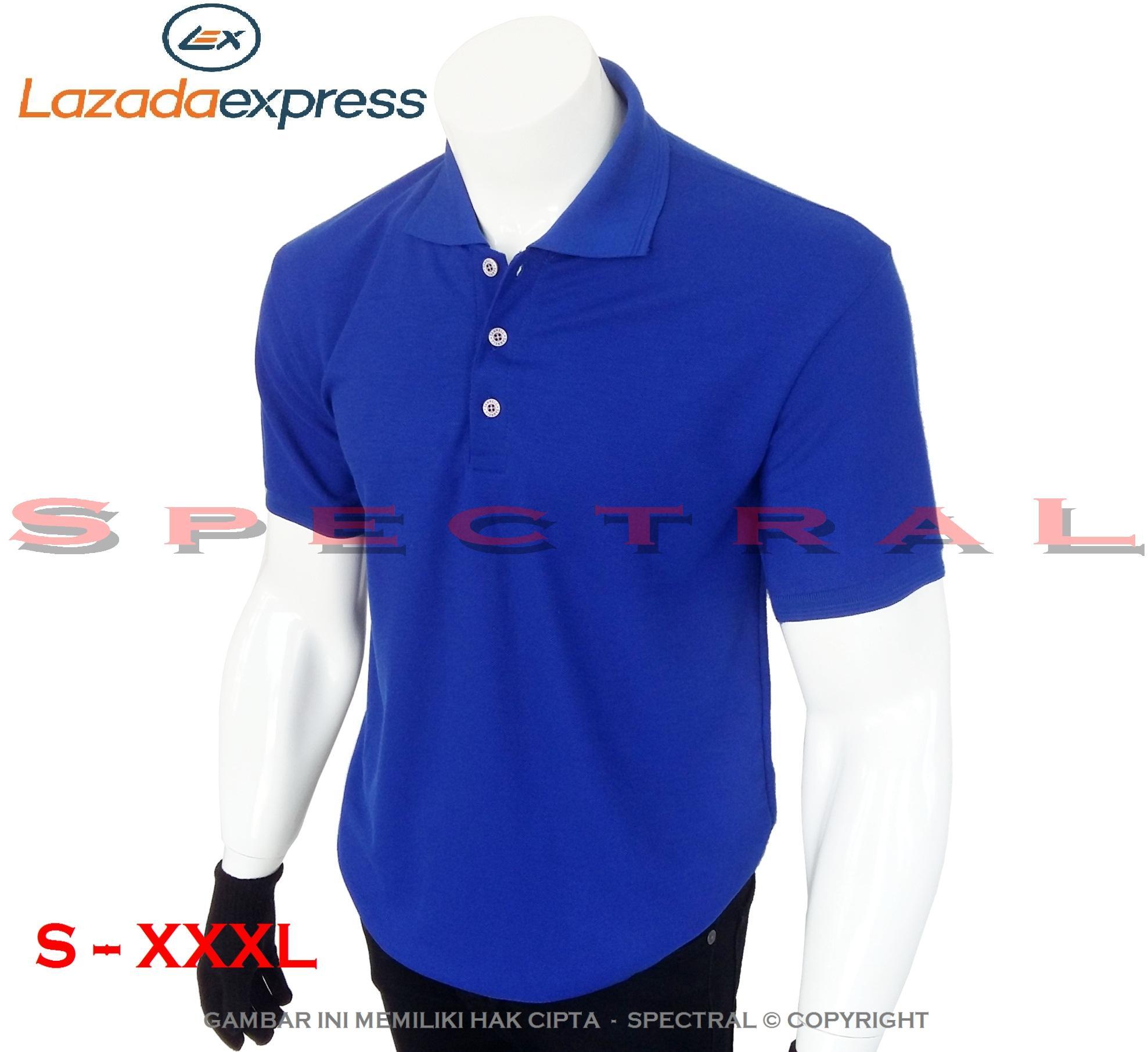Spectral – 22 WARNA - S M L XL XXL XXXL 2L 3L Polo Shirt Kaos Distro T 7f7f8fae62
