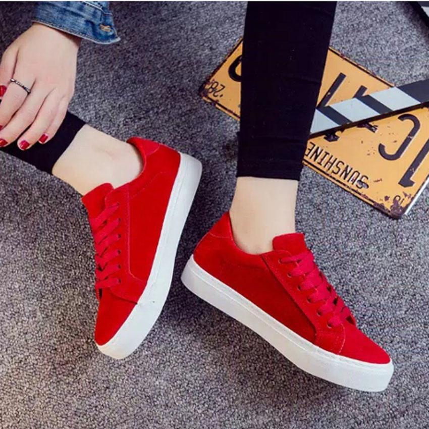 BK Sepatu Sekolah Wanita Pria DS- Sneakers Santai - Sepatu Sekolah Kuliah a9ee83fd42