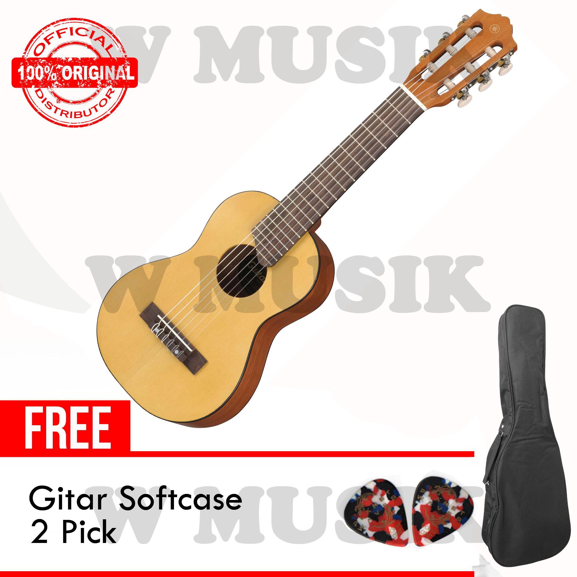 Yamaha Gitar Mini GL-1 / GL1 / Guitalele / GL1NT - Natural + Gratis Softcase & 2 Pick