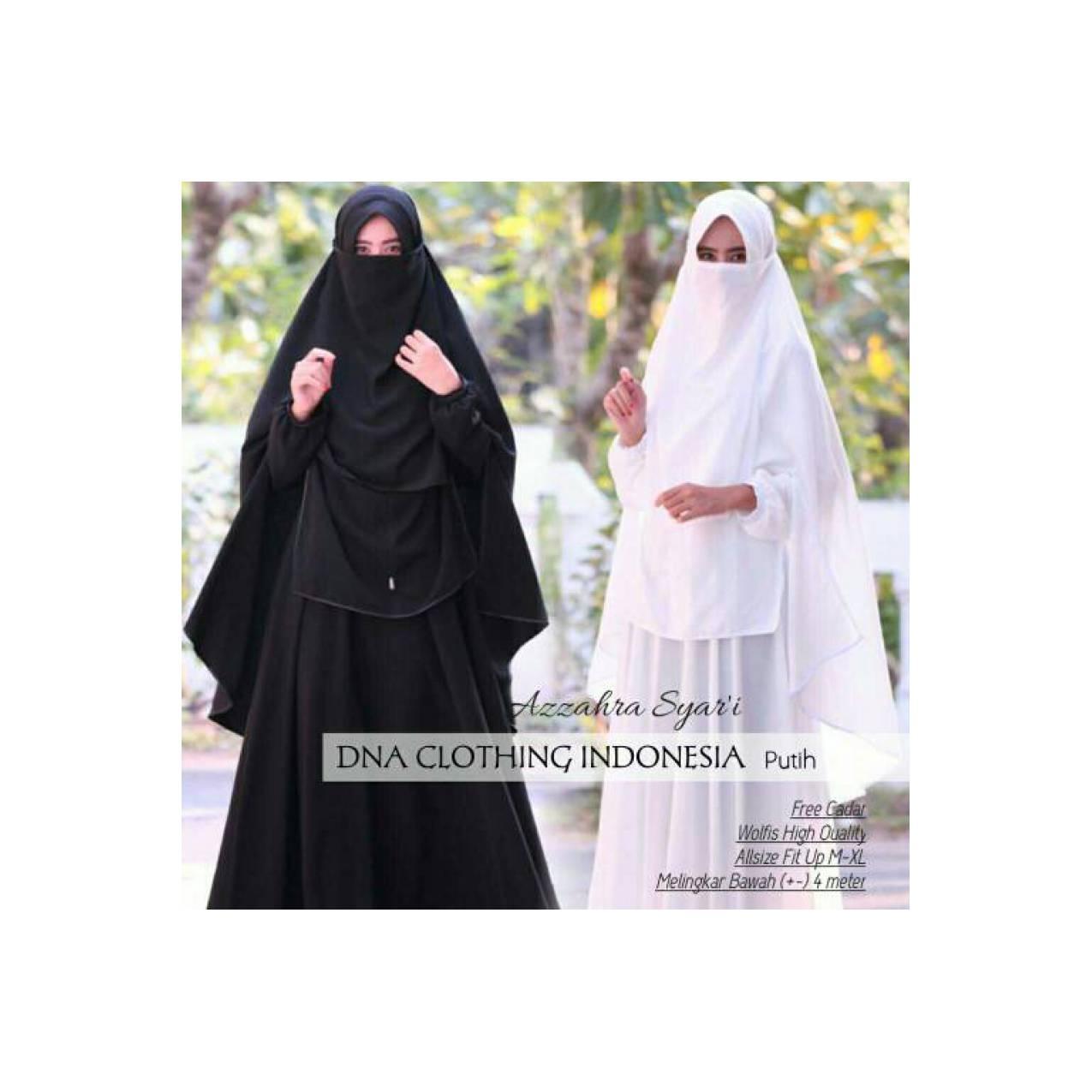pusat grosir baju muslim azzahra syari wolfis